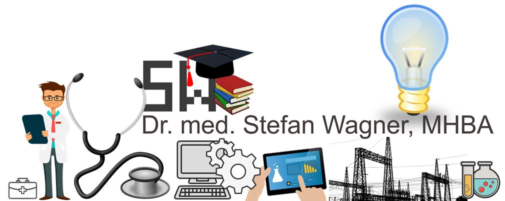 Banner: Dr. med. Stefan Wagner, MHBA - Arzt, Medizininformatiker, Wirtschaftsinformatiker, Gesundheitsökonom in Stein bei Nürnberg, Bayern, Deutschland